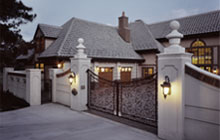 Denver Polo Club Gallery Entry Gate Detail